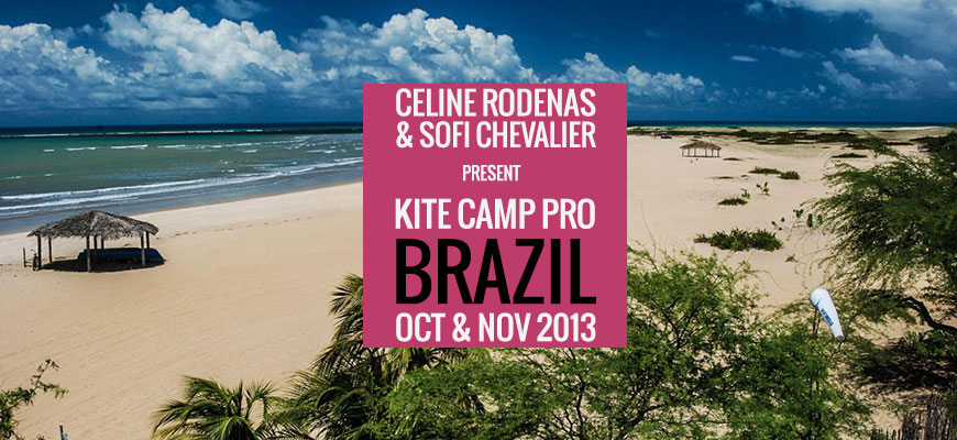 Kite Camp Pro coaching in Brazil – Gostoso – 2013