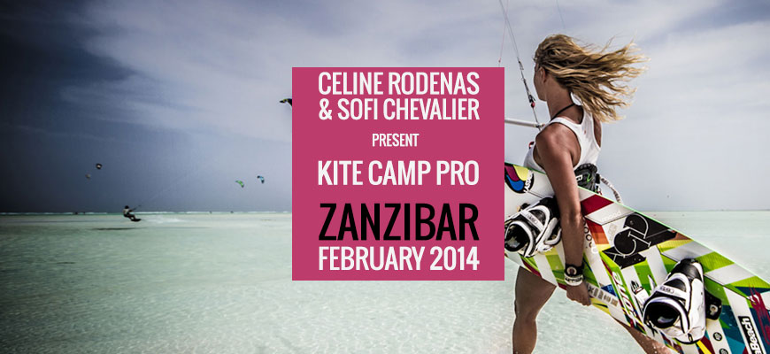 Kite Camp Pro coaching in Zanzibar – Paje – 2014