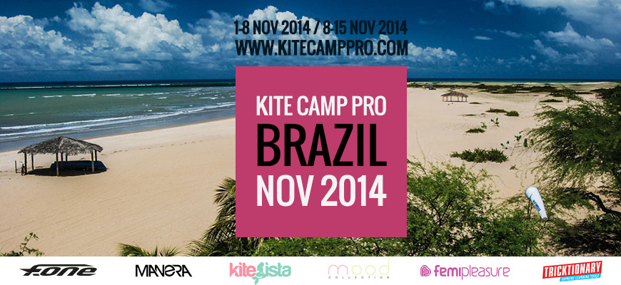 Kite Camp Pro coaching in Brazil – Gostoso – 2014