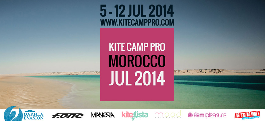 Kite Camp Pro coaching in Morocco – Dakhla – 2014