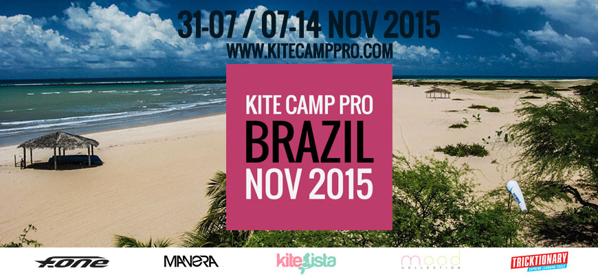 Kite Camp Pro coaching in Brazil – Gostoso – 2015