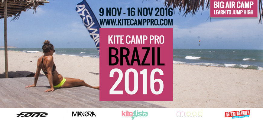 Kite Camp Pro coaching in Brazil Big Air Camp – Prea – 2016