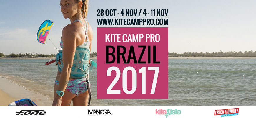 Kite Camp Pro coaching in Brazil Flat Water Camp – Parajuru – 2017