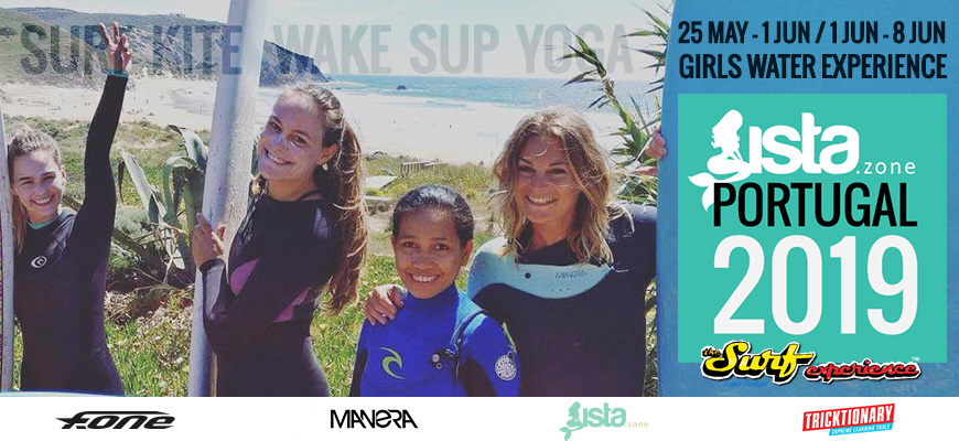 Kite Camp Pro coaching in Portugal Sista.zone Girls Experience Camp – September – 2019